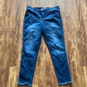 Democracy AB Solution Ankle Skinny Jeans Size 10